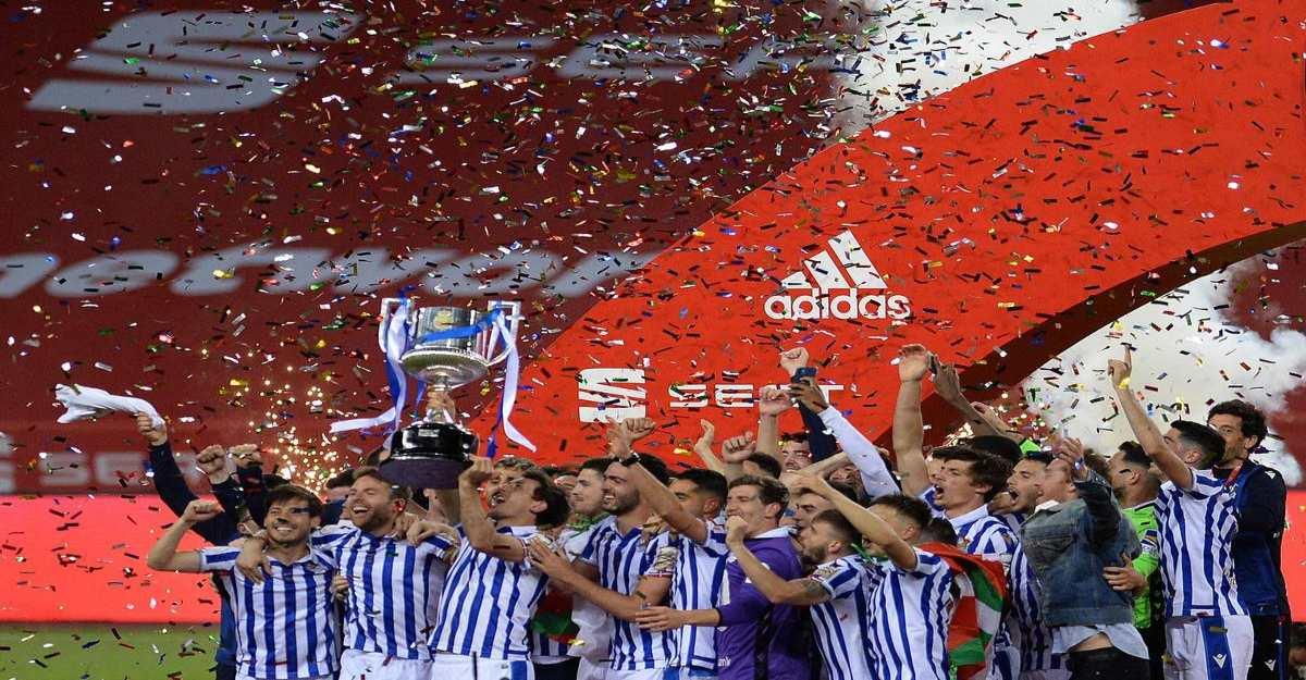 Mikel Oyarzabal penalty ends Real Sociedad's 34-year wait