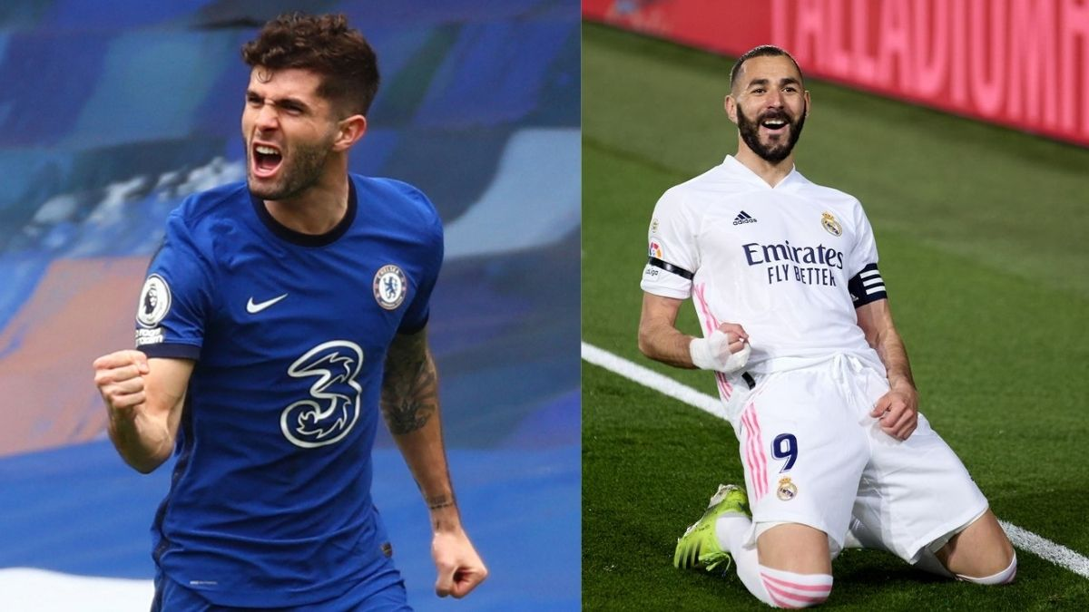 Champions League: Pulisic opens the deadlock, Benzema levels it
